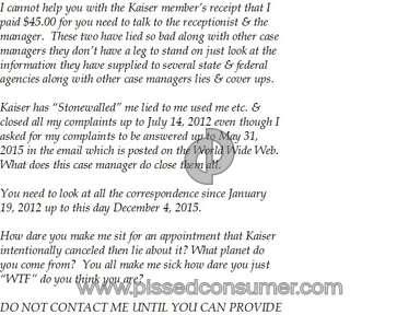 Kaiser Permanente Hospitals, Clinics and Medical Centers review 102331