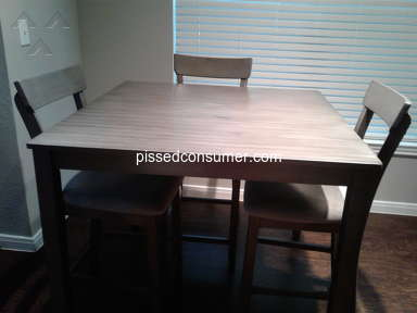 Exclusive Furniture - POOR SERVICE