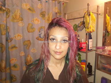 Splat Hair Color - Terrible! How am I going to work like this!