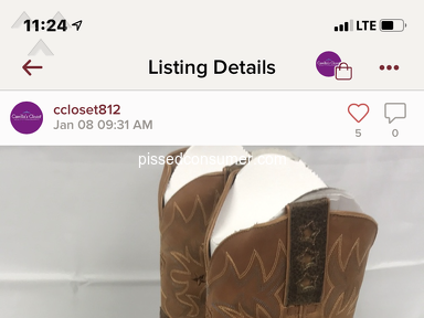 Poshmark Auctions and Marketplaces review 512007