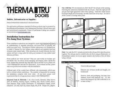 Richmond American Homes Door Installation review 152916