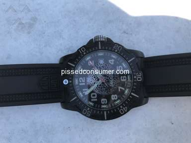 Luminox - Moisture getting in under crystal/face of watch