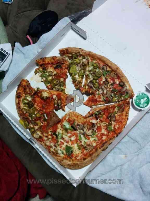 Papa Johns Pizza Pizza Review 48187