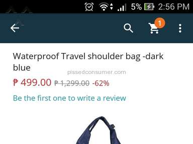 Lazada Philippines Handbag review 167188