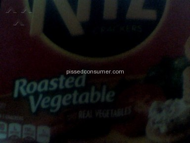 Ritz Crackers Food Manufacturers review 80797