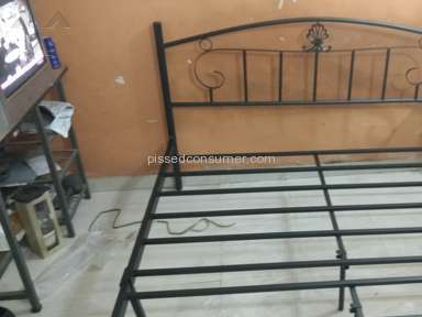 Pepperfry - Bed Review
