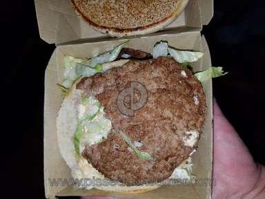 McDonalds - McDonald's Employee took a bite of burger