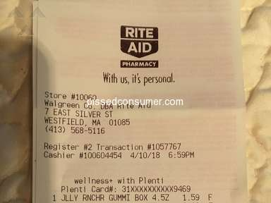 Rite Aid - Horrible Customer Service