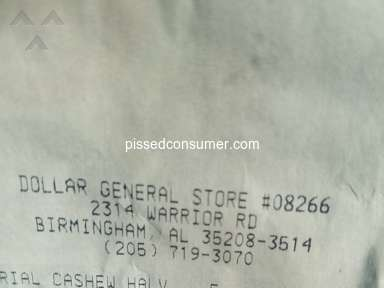 Dollar General Corporation - Complained