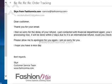 Fashionmia Dress review 146712