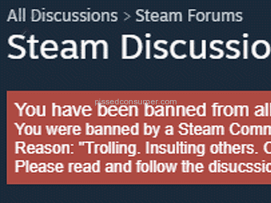 Steam - Customer Care Review from Bellevue, Washington