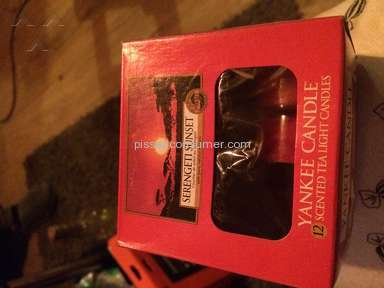 Yankee Candle - Candle Review
