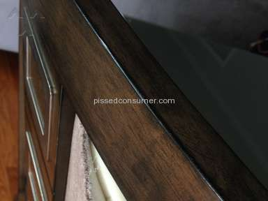 Very Poor quality of Ashley Furniture & really Bad Customer service