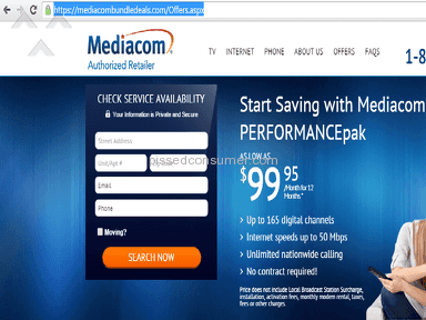 Buying Mediacom Cable Online