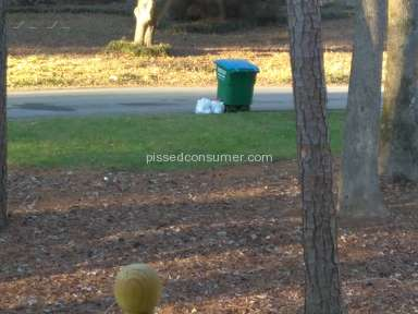 Waste Pro Usa - My garbage is only picked up once a month not 4x as paid