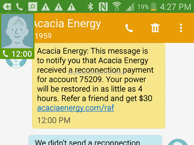 Acacia Energy Electricity Supply review 212314