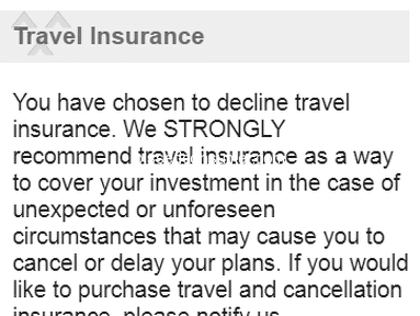 Alanita Travel - Dis-respect, foul language, No insurance if journey starts from India