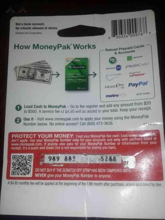 Green Dot Moneypak - Missing Numbers Review from Shreveport