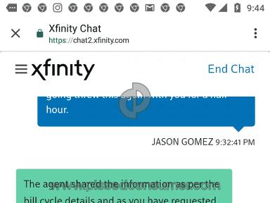 Xfinity Bullshitters