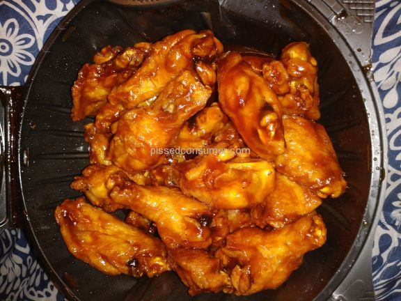 Pizza Hut Honey Bbq Chicken Wings