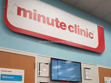 Minute Clinic - Very long time waiting, and the person who is there not care how many people waiting in the line.