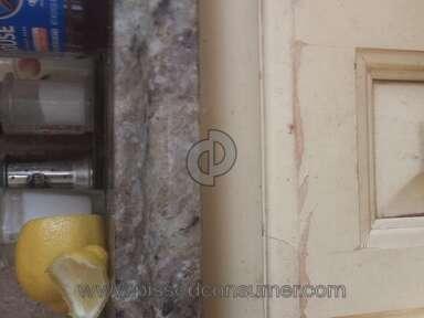 KraftMaid - Amber glazed cabinets peeling