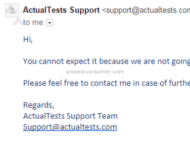 Actualtests Education review 116903