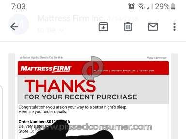 Mattress Firm - THIEVES!