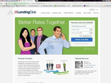 Lending Club - They Charge Fees to get loans!