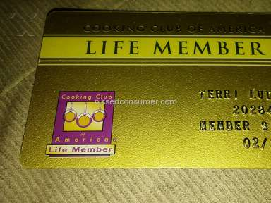 Cooking Club Of America - The ????'s around a lifetime membership...