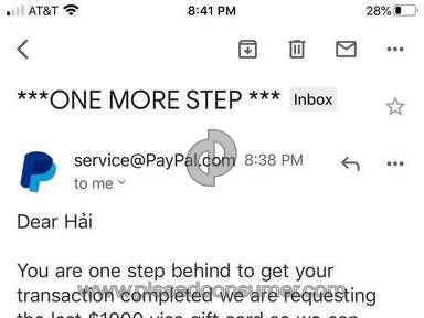 Paypal Cash Services review 811174