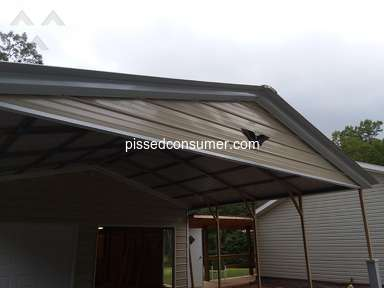 Eagle Carports - Pissed Off Customer