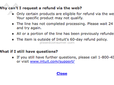 Intuit - Thirty Minute Wait for Customer SERVICE?