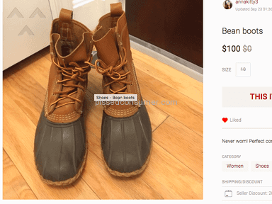 Poshmark Boots review 250810