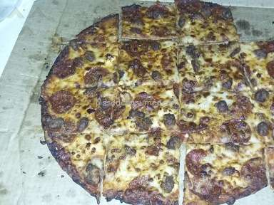 Dominos Pizza Thin Crust Pizza Review