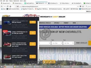 Feldman Chevrolet Of Highland Dealers Advertisement review 247690