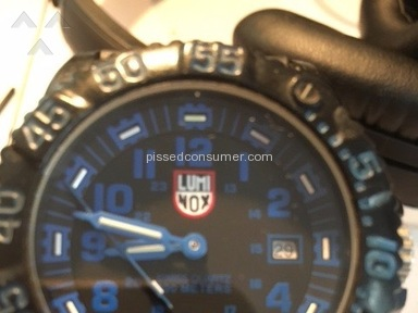 Luminox - Great Until...Minute Hand Dislodged!