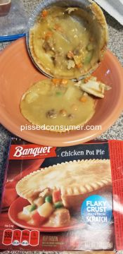 Banquet Meals Chicken Pot Pie