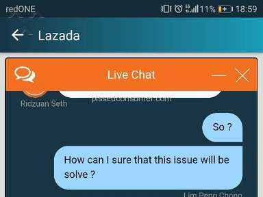Lazada Malaysia Shipping Service review 266004