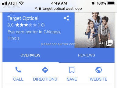Target Optical - Horrible
