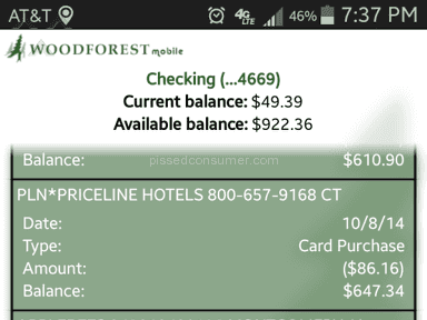 Priceline Room Booking review 50681