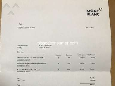 Montblanc Jewelry and Accessories review 357998
