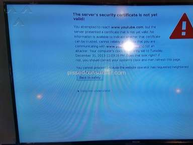 Hisense is selling defective TV's, and wont refund!!!