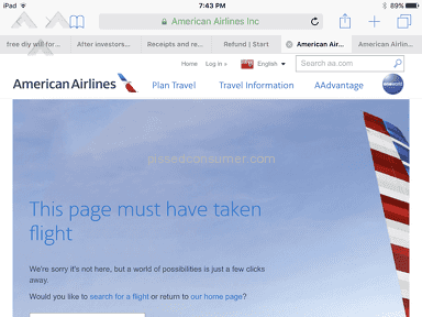 American Airlines Customer Care review 221138