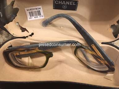 Everything But The House - Can't get refund when they shipped me broken glasses