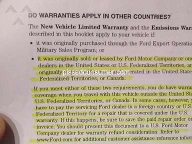 Fred Beans Ford unlawful warranty denial