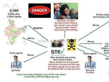 STEi Institute - Www.stei.edu.sg is a Fraud cheating Singapore school