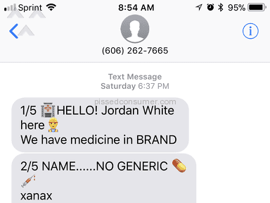 Us Online Pharmacy - Won't stop calling