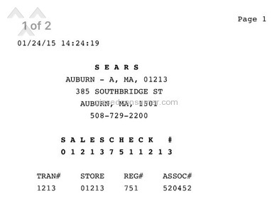 Sears Kenmore Washing Machine review 97607