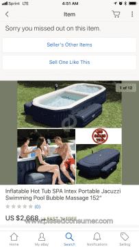 Intex Recreation Hot Tub